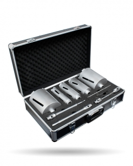11 Piece Dry Core Drill Kit Master Plus