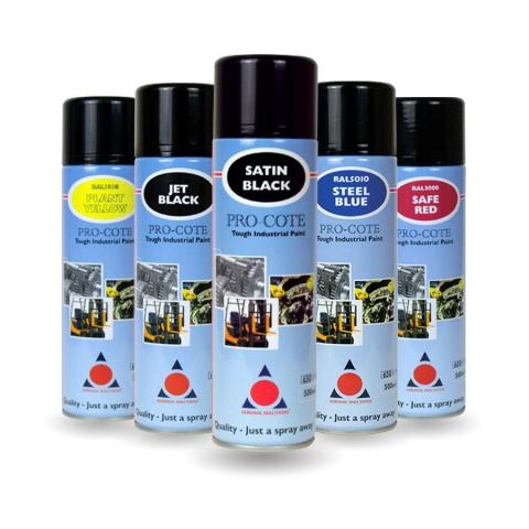 Pro-Cote Spray Paint Lineup
