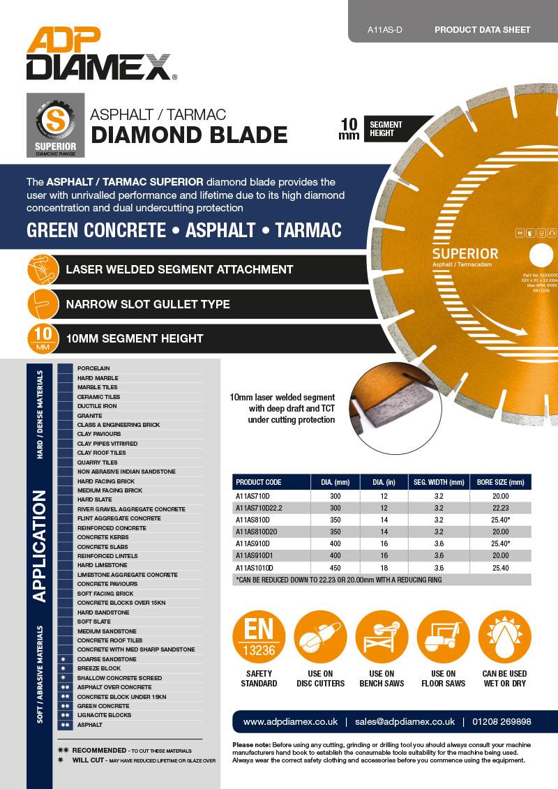 Asphalt / Tarmac Superior Data Sheet