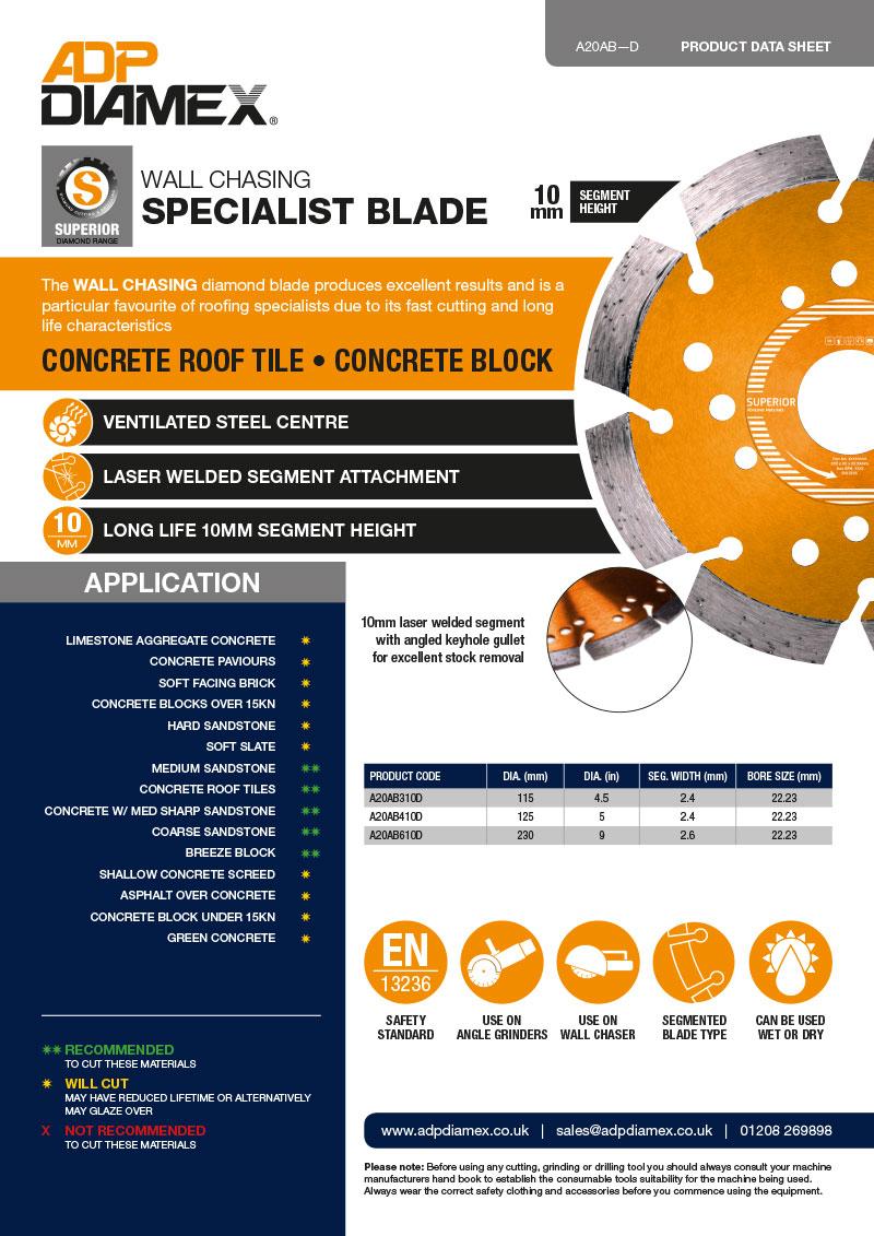 Chasing Blade Data Sheet