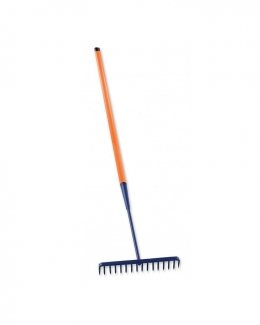 16 Teeth Round Tarmac Rake BS8020 SHOCKSAFE