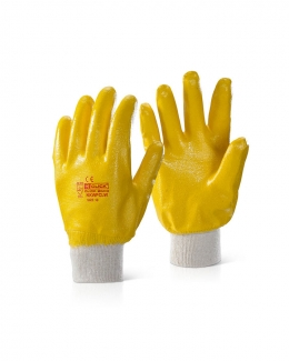Fully Coated Nitrile Glove Lightweight