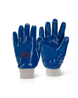 Fully Coated Nitrile Work Gloves