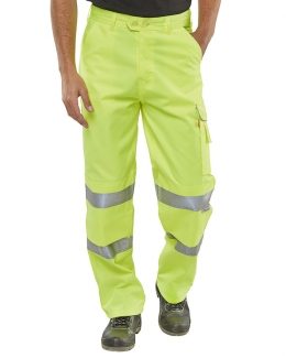 Hi Vis Work Trousers