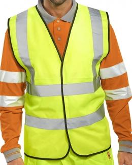 Hi Visibility Work Vest