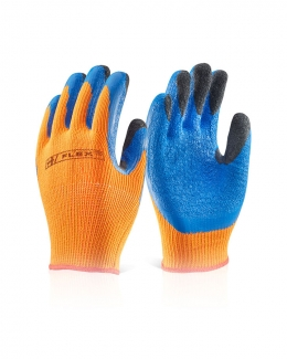 Latex Coldstar Glove Orange