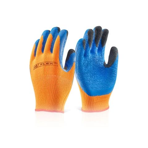 Latex Coldstar Glove Orange