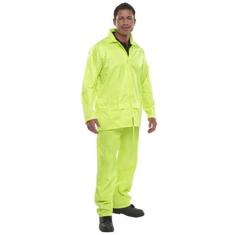 Nylon Hi Vis B-Dri Suit