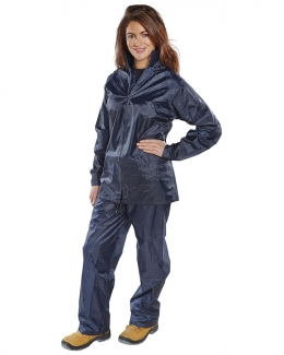 Nylon Navy B-Dri Suit