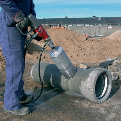 HYCON Core Drill in Action