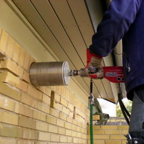 HYCON Core Drill in Brick