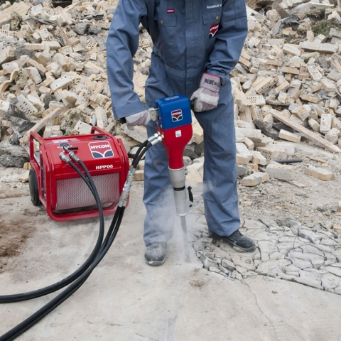 HYCON HPP06 and HH15 Power Kit Concrete