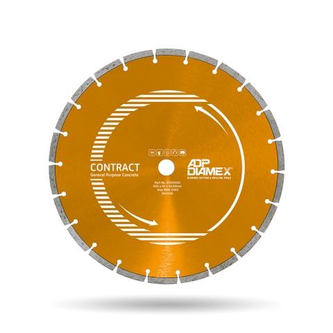 Diamond Blade General Purpose Concrete 8mm Contract 300mm