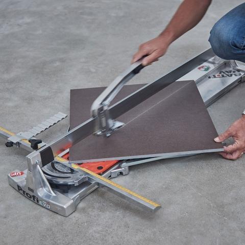 Battipav Profi Evo Maunal Tile Cutter Action