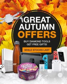Diamond Cutting Tools Autumn Offers 2020