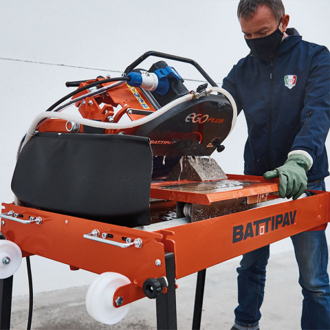 Battipav EGO PLUS Masonry Bench Saw Angle Cutting